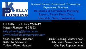 Kelly-Plumbing-Business-Card